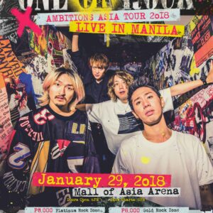 5a949c596ae4 One OK Rock Ambitions Asia Tour 2018 Live in Manila