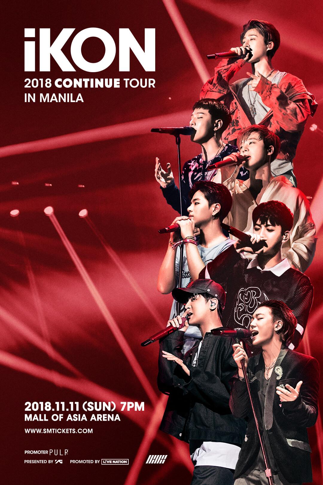 iKON 2018 CONTINUE TOUR IN MANILA - PULP Live World