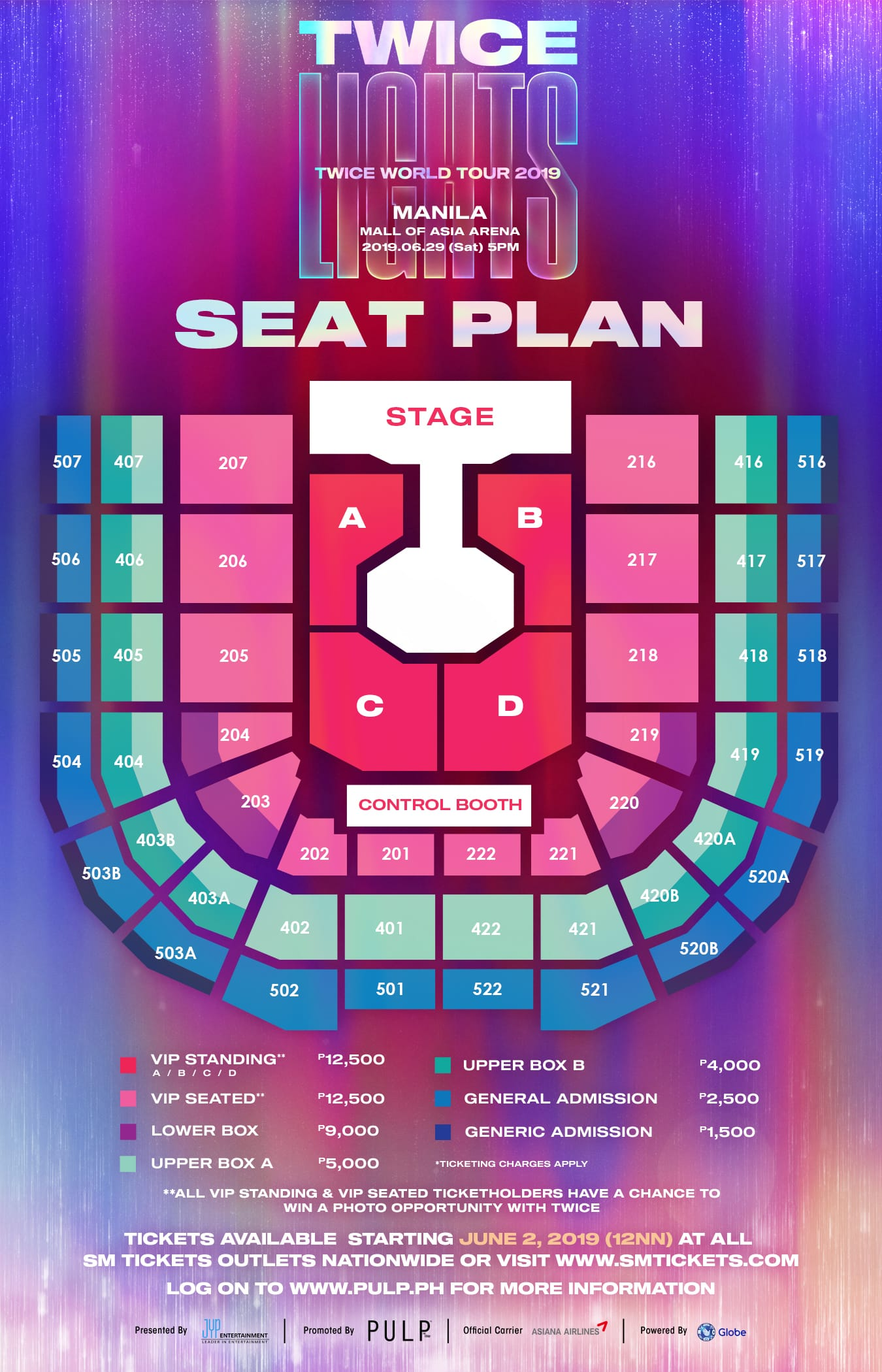 Twice World Tour 2019 Twicelights In Manila Pulp Live World