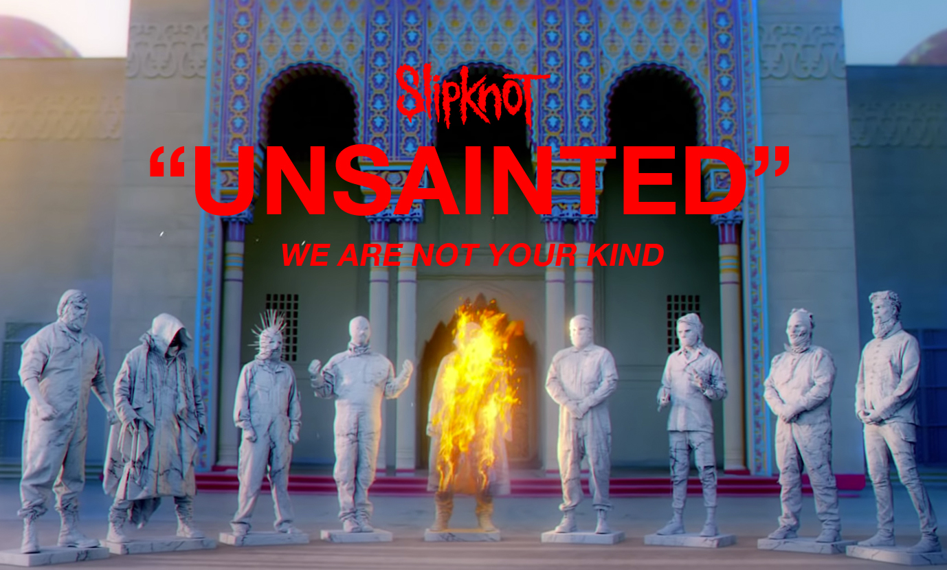 WE ARE NOT YOUR KIND—New Slipknot Album Announced - PULP Live World